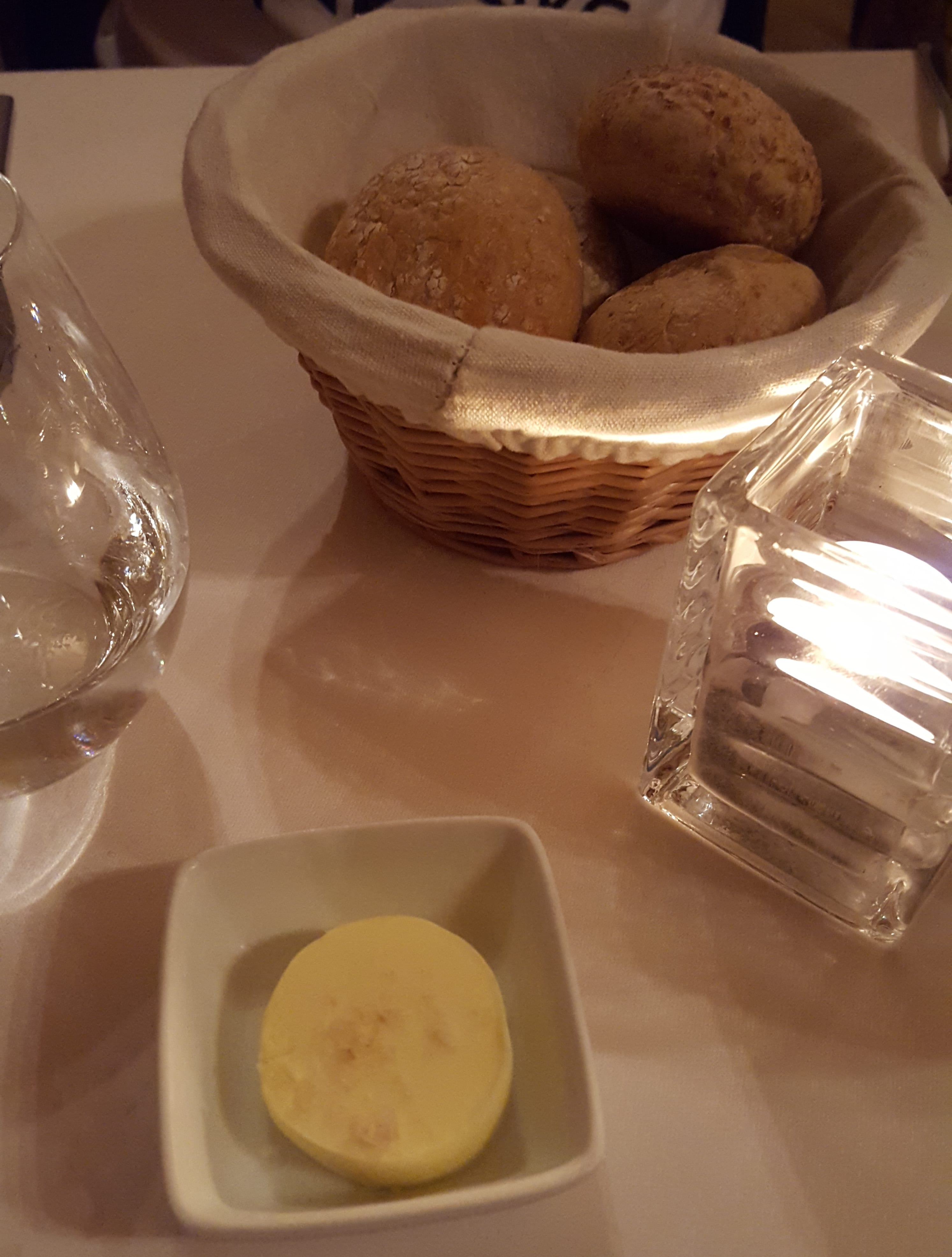 Fresh Bread and Salted Butter