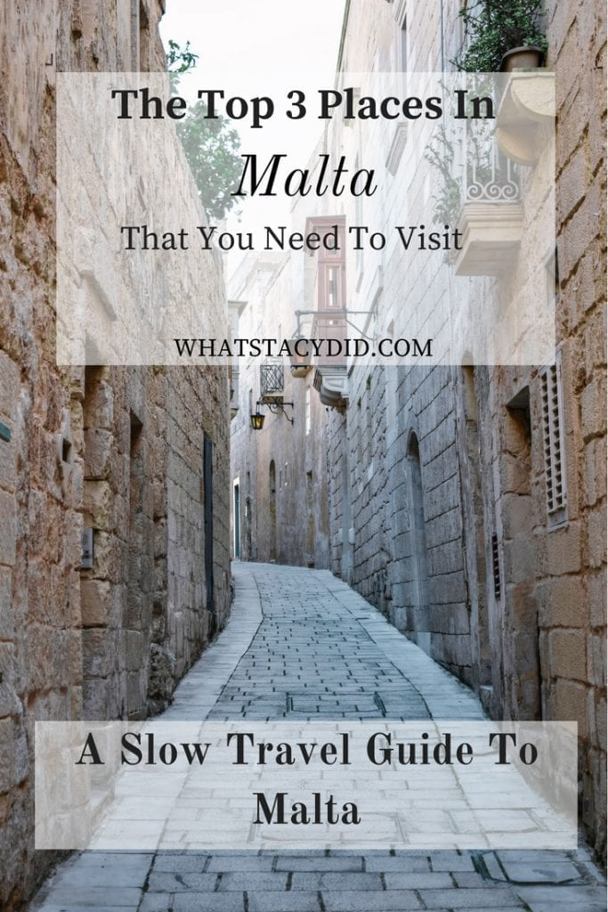 The Top Three Places In Malta That You Need To Visit