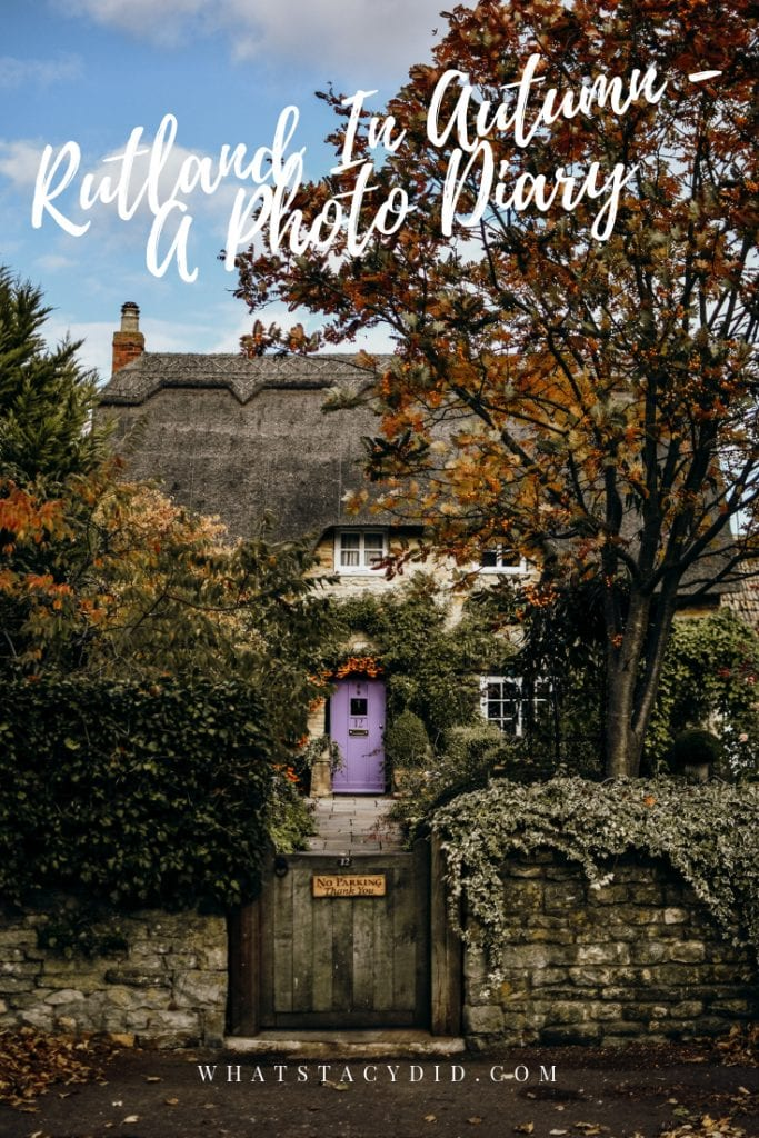 A Photo Diary of Rutland, England - The glorious shades of the UK in autumn