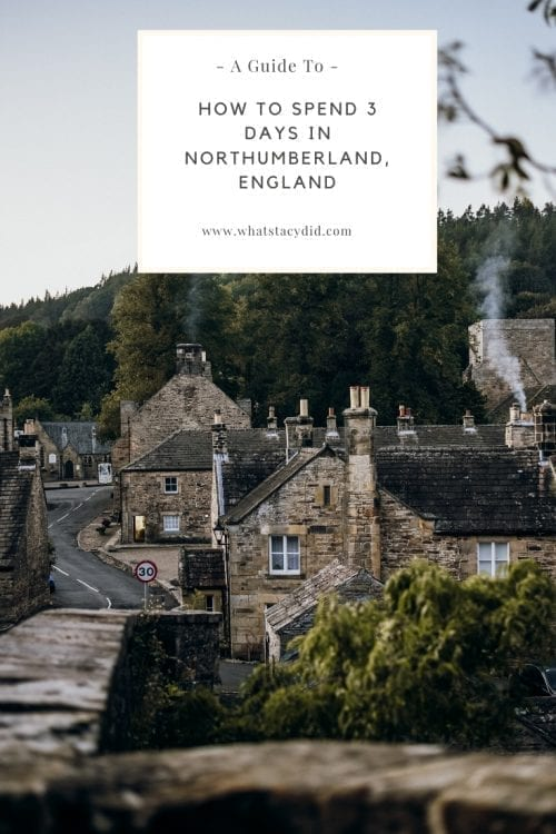 Northumberland is one of the up and coming UK travel destinations. If you're wanting ideas on how to spend 3 days in Northumberland then look no further! This is the perfect road trip itinerary for this part of England. #uk #uktravel #northumberland #england #travel #britishroadtrip